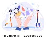 learning herbal medicine people.... | Shutterstock .eps vector #2015153333