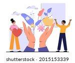 healthcare  herbal medicine ... | Shutterstock .eps vector #2015153339