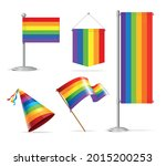 realistic 3d detailed lgbtq...   Shutterstock .eps vector #2015200253