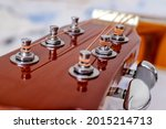Guitar Head With Tuning Heads....
