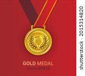 gold medal illustration image...   Shutterstock .eps vector #2015314820