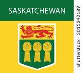 saskatchewan territory symbol... | Shutterstock .eps vector #2015342189