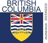 british columbia symbol vector... | Shutterstock .eps vector #2015342213