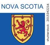 nova scotia symbol vector image.... | Shutterstock .eps vector #2015342216