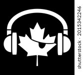 music pirates of canada flag... | Shutterstock .eps vector #2015342246