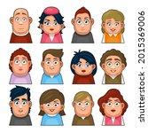 overweight people avatar...   Shutterstock .eps vector #2015369006