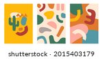 collection abstract background. ...   Shutterstock .eps vector #2015403179