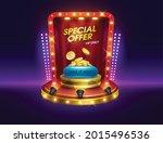 dialog casino slots games....   Shutterstock .eps vector #2015496536