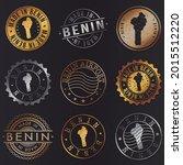 benin business metal stamps.... | Shutterstock .eps vector #2015512220