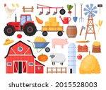 farmers set. vector icon set of ...   Shutterstock .eps vector #2015528003