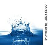 water splash | Shutterstock . vector #201553700