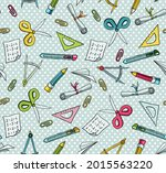 seamless vector pattern with...   Shutterstock .eps vector #2015563220