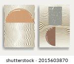 modern poster with minimalist...   Shutterstock .eps vector #2015603870