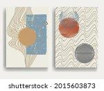modern poster with minimalist...   Shutterstock .eps vector #2015603873