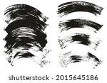 flat fan brush thin curved... | Shutterstock .eps vector #2015645186