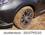 Stuck Car Wheel In The Sand ...