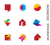 Human creativity art of success icon vector company logo vector