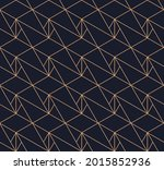 vector seamless geometric... | Shutterstock .eps vector #2015852936