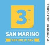 san marino republic day...   Shutterstock .eps vector #2015893886