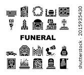funeral dead ceremony... | Shutterstock .eps vector #2015935430