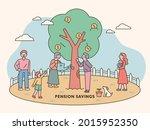 families  including the elderly ...   Shutterstock .eps vector #2015952350