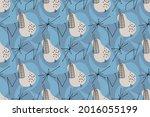 geometric seamless pattern of...   Shutterstock .eps vector #2016055199