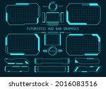 futuristic hud bar graphics....