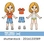 cartoon girl with bob hairstyle ... | Shutterstock .eps vector #2016133589