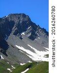 Mountainous Summit With...