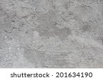 grey concrete texture | Shutterstock . vector #201634190