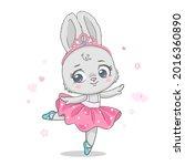 vector illustration of a cute...   Shutterstock .eps vector #2016360890