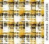 yellow black  woven stripe...   Shutterstock .eps vector #2016411686