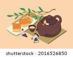 mid autumn festival design....   Shutterstock .eps vector #2016526850