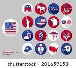 american design elements | Shutterstock .eps vector #201659153