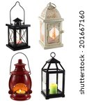 collection of various lanterns... | Shutterstock . vector #201667160