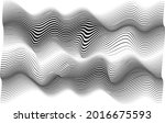 abstract flow lines background .... | Shutterstock .eps vector #2016675593