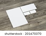 blank corporate identity... | Shutterstock . vector #201670370