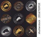 burkina faso business metal... | Shutterstock .eps vector #2016703910