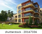 new modern apartments | Shutterstock . vector #20167336
