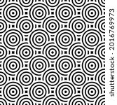 overlapping circles pattern....   Shutterstock .eps vector #2016769973