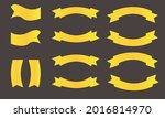set of ribbons and labels...   Shutterstock .eps vector #2016814970