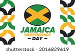 jamaica independence day....   Shutterstock .eps vector #2016829619