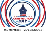 constitution day in united...   Shutterstock .eps vector #2016830033