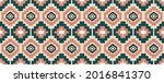geometric ethnic pattern... | Shutterstock .eps vector #2016841370