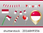 festive bunting flags of...   Shutterstock .eps vector #2016849356
