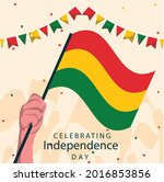 bolivia independence day 6...   Shutterstock .eps vector #2016853856