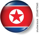 flag button badge round glossy...   Shutterstock .eps vector #2016875360