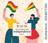 bolivia national day.bolivia...   Shutterstock .eps vector #2016877283