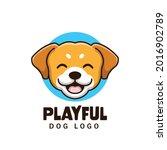 creative cartoon dog pet shop...   Shutterstock .eps vector #2016902789