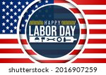 labor day in the united states...   Shutterstock .eps vector #2016907259
